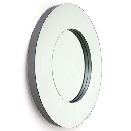 Decor-Rest Accent on Home Mirrors Ornella Round Wall Mirror