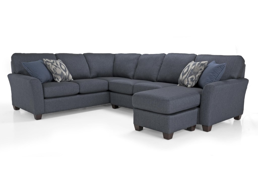 Decor-Rest Alessandra ConnectionsLHF Chaise Sectional