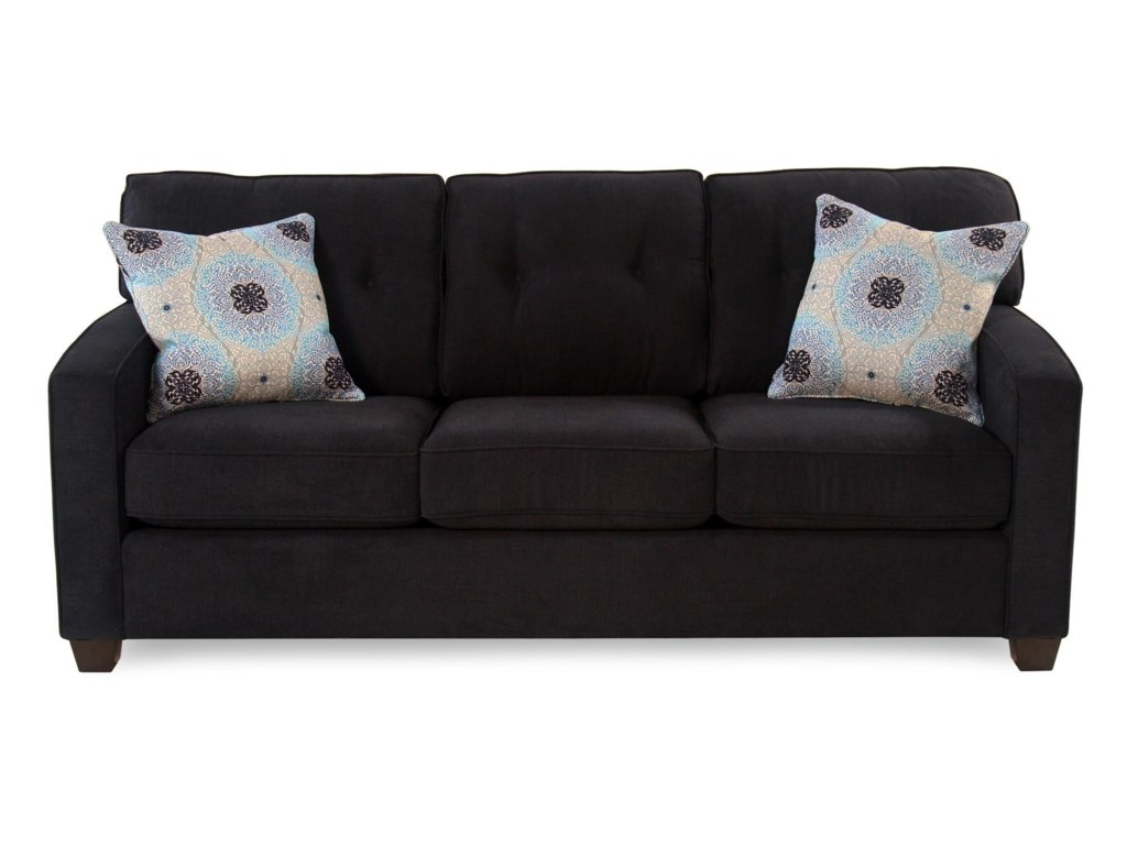 Mandalay Track Arm Sofa W Tapered Legs