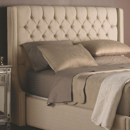 Decor Rest Beds Queen Upholstered Headboard With On Tufting