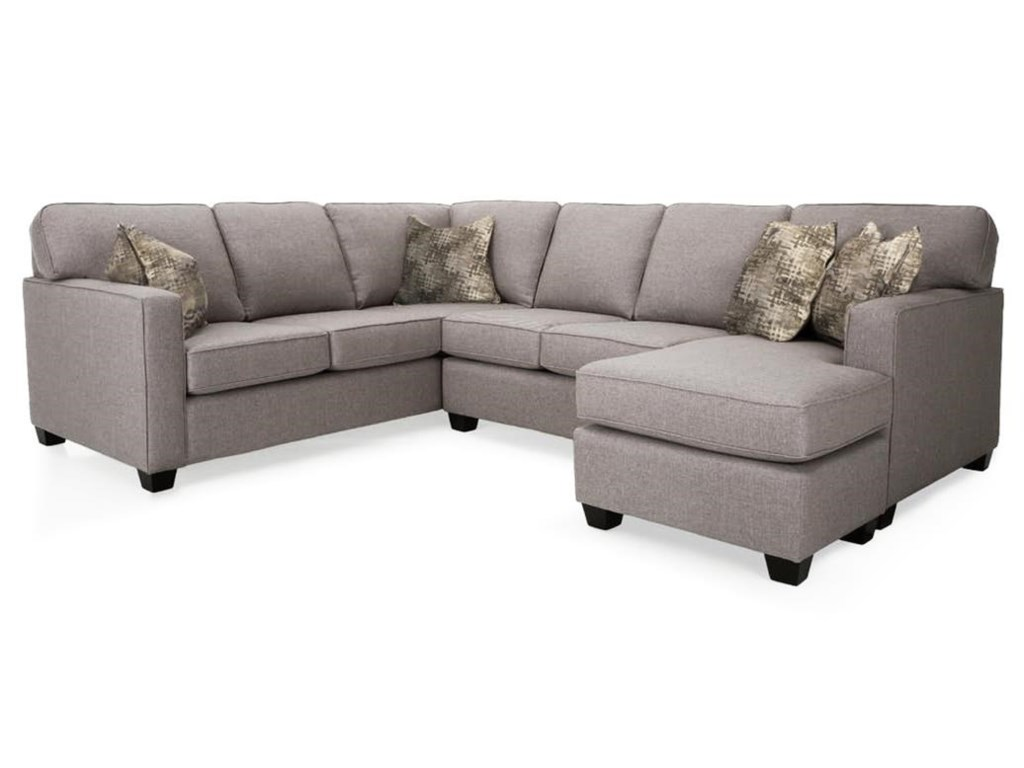 Mariko 2PC Sectional Sofa w/ Chaise by Decor-Rest at Rotmans