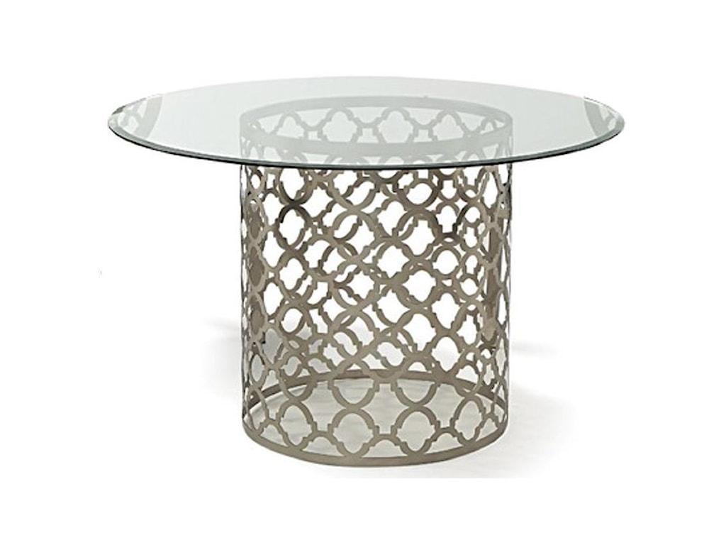 Decor-Rest QuartrefoilRound Dining Table