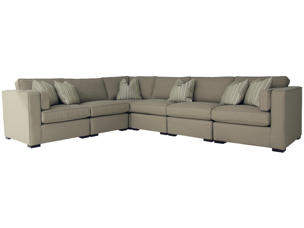 DecorRest Steven And Chris Bay Street Stationary Sectional - Decor rest sectional