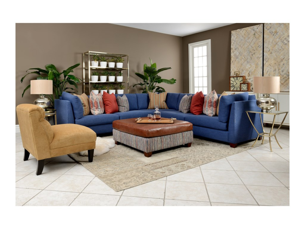 Decor-Rest ViceroySectional Sofa