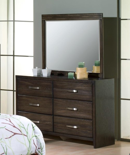 Defehr 682 6 Drawer Dresser
