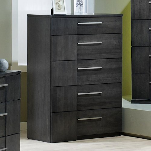 Defehr Milano Contemporary 6 Drawer Chest