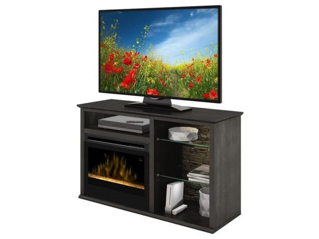 Defehr Series 186Entertainment Console with Fireplace
