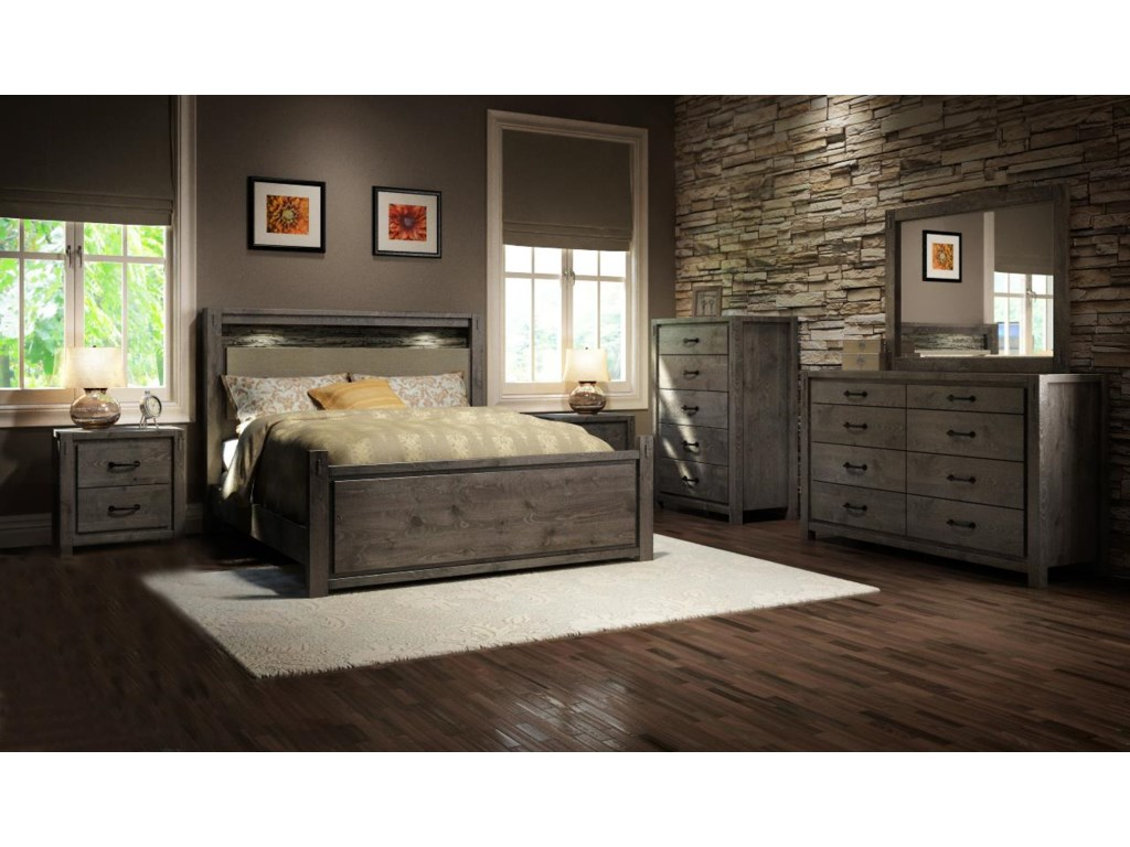 Defehr Series 697King Bedroom Group
