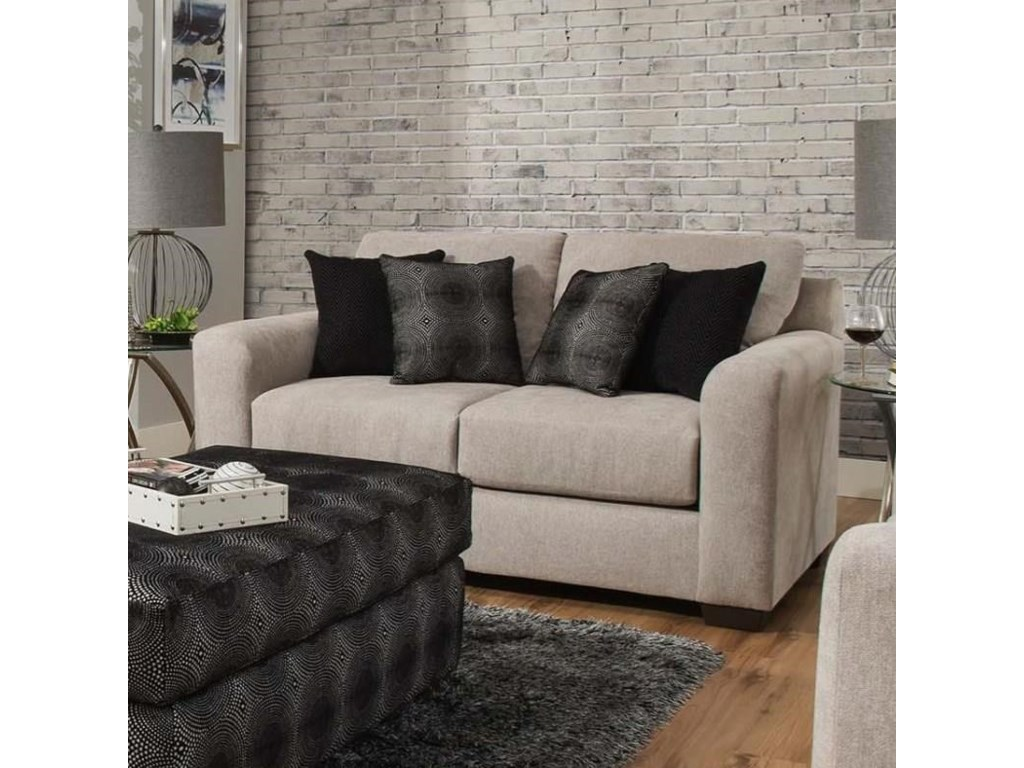 Delta Furniture Manufacturing 4100Loveseat
