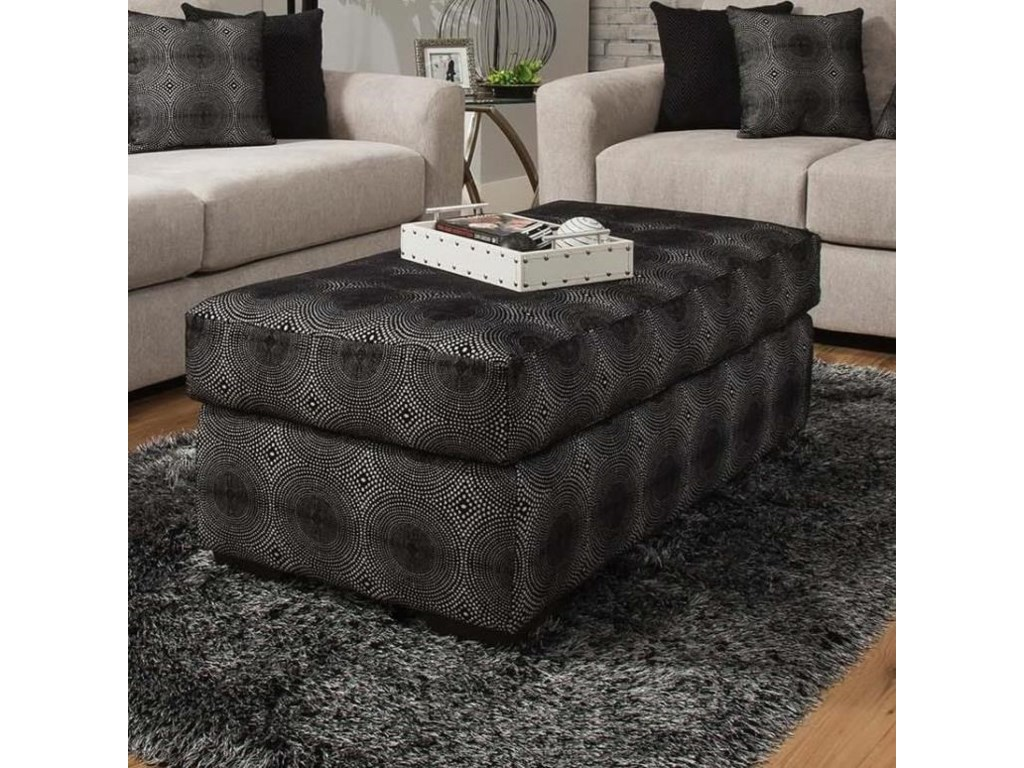 Delta Furniture Manufacturing 4100Cocktail Ottoman