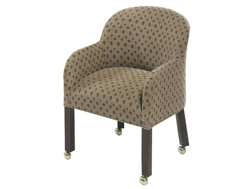 Designmaster Chairs Laurel Tub Chair on Casters