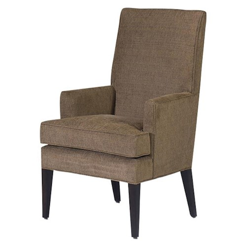 Designmaster Chairs  Roland Spring Down Seat Arm Chair