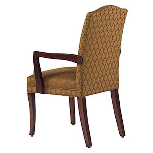 Designmaster Chairs  Lynchburg Nail Head Trim Arm Chair