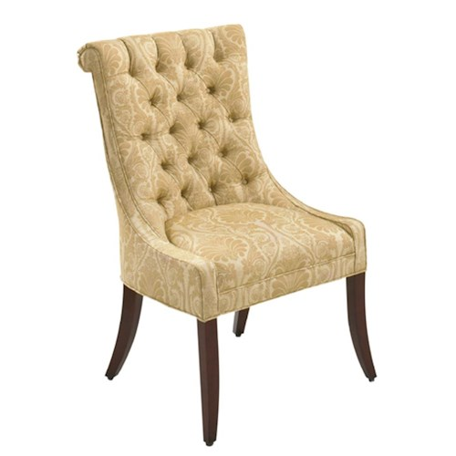 Designmaster Chairs  Caledonia Tufted Back Host Chair