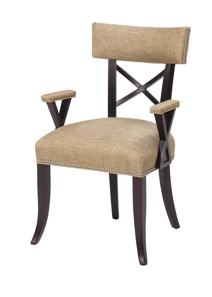 Beau Chairs Dahlia X Back Arm Chair By Designmaster