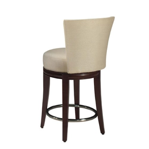 Designmaster Dining Stools Danbury Swivel Counter Height Dining Stool