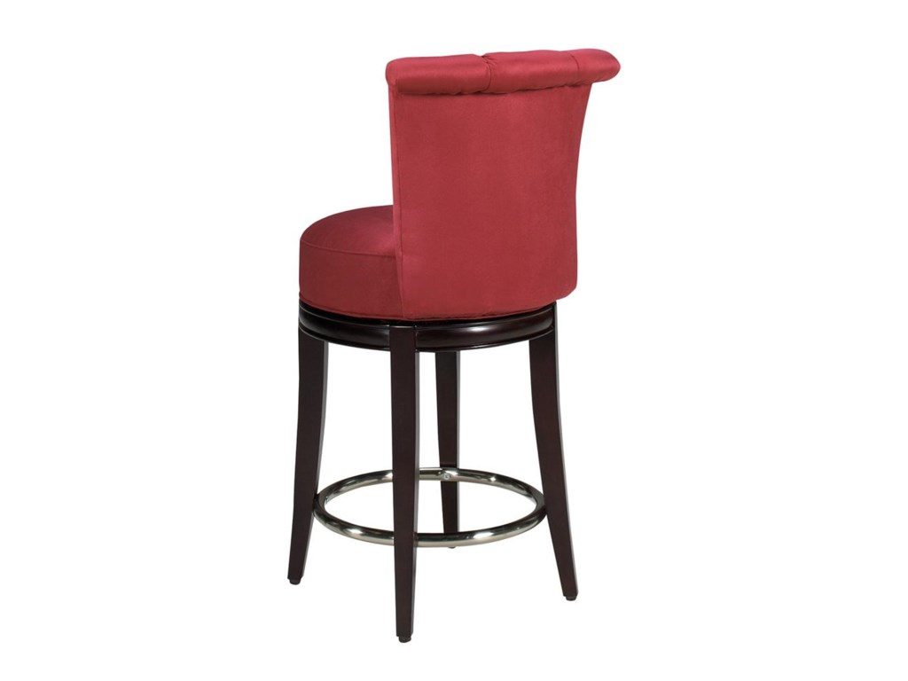 Designmaster Dining StoolsSeneca Channel Back Swivel Stool