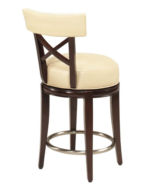 Dining Stools Callaway X Back Swivel Counter Height