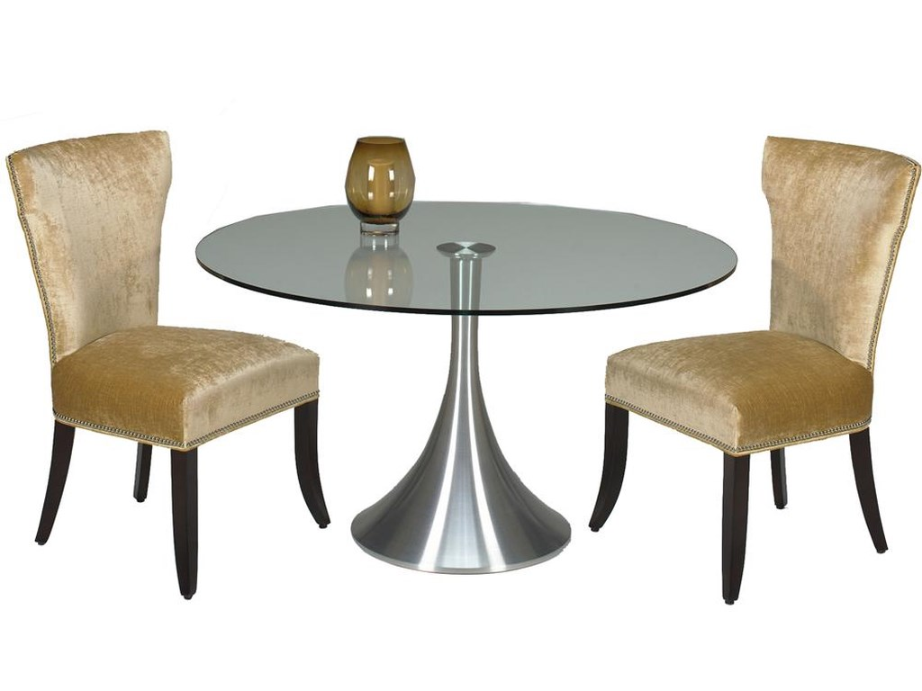 Designmaster TablesDel Mar Table with Glass Top