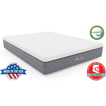 """Full 11"""" Firm Hybrid Bed-in-a-Box Mattress"""