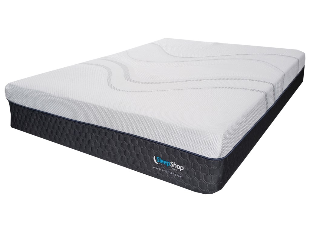 Diamond Mattress Copper Cool Hybrid MediumCal King Hybrid Cooling Med Firm Mattress