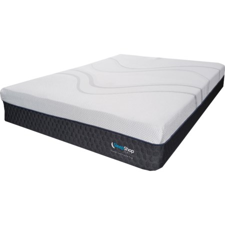 Queen Hybrid Cooling Plush Mattress-in-a-Box