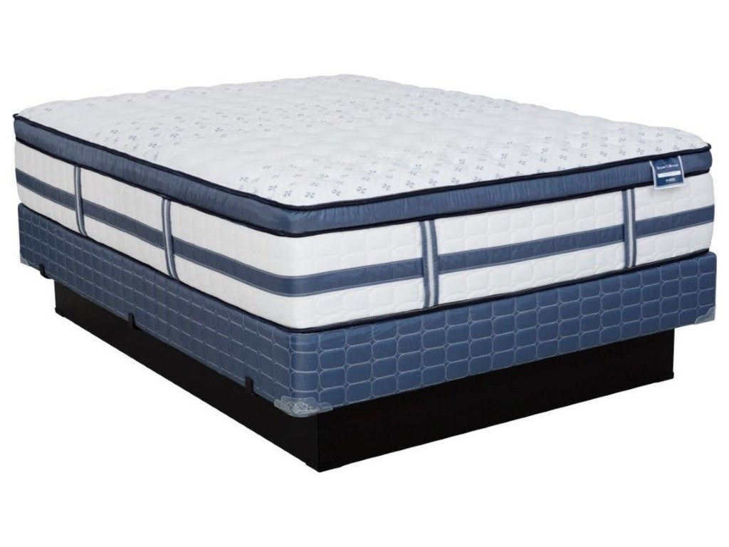 Diamond Mattress Dream Bliss Medium Firm Euro TopQueen Med. Firm Euro Top Mattress Set