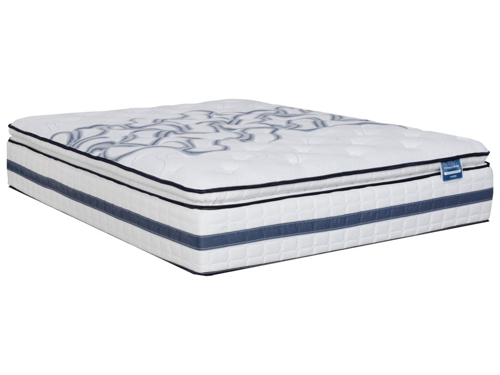 Diamond Mattress Dream Holiday Euro TopTwin Med. Firm Euro Top Mattress