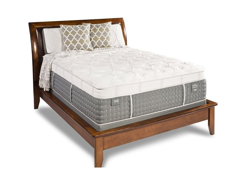 Diamond Mattress Generations Duchess PlushKing Plush Euro Top Mattress Set
