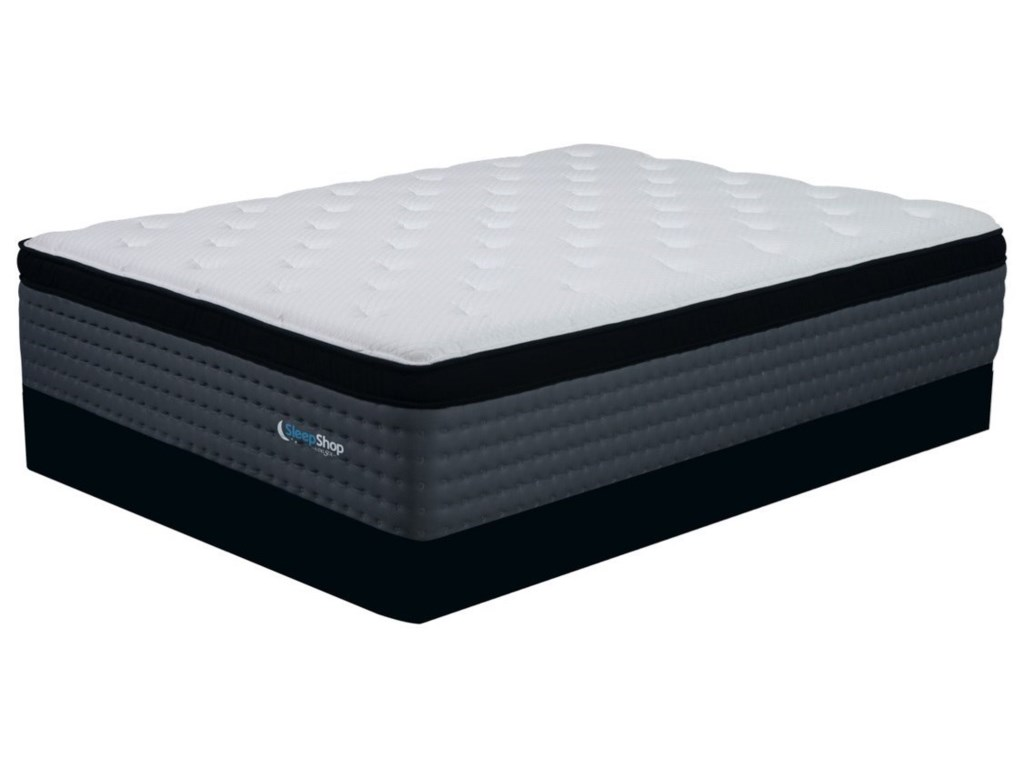 Diamond Mattress Graphene Elite MediumQueen Medium Firmness Euro Top LP Set
