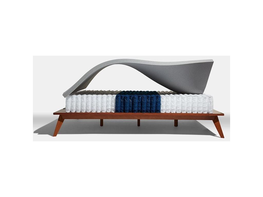 Diamond Mattress Intention Medium ET HybridFull Medium Euro Top Hybrid Mattress