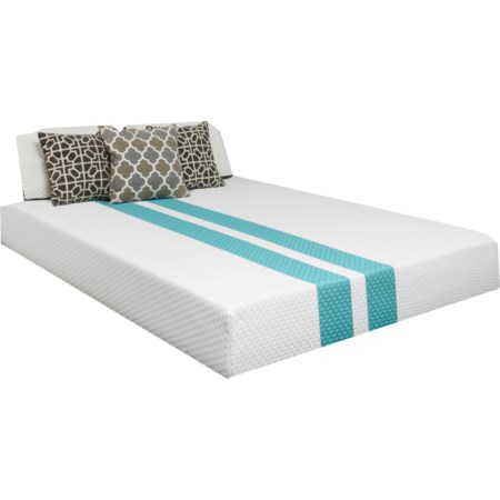 Full Hybrid Cooling Plush Mattress