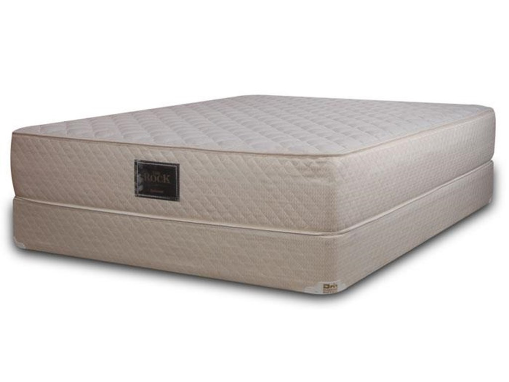 Diamond Mattress Specialty Firm Collection The RockQueen Extra Firm Mattress Set