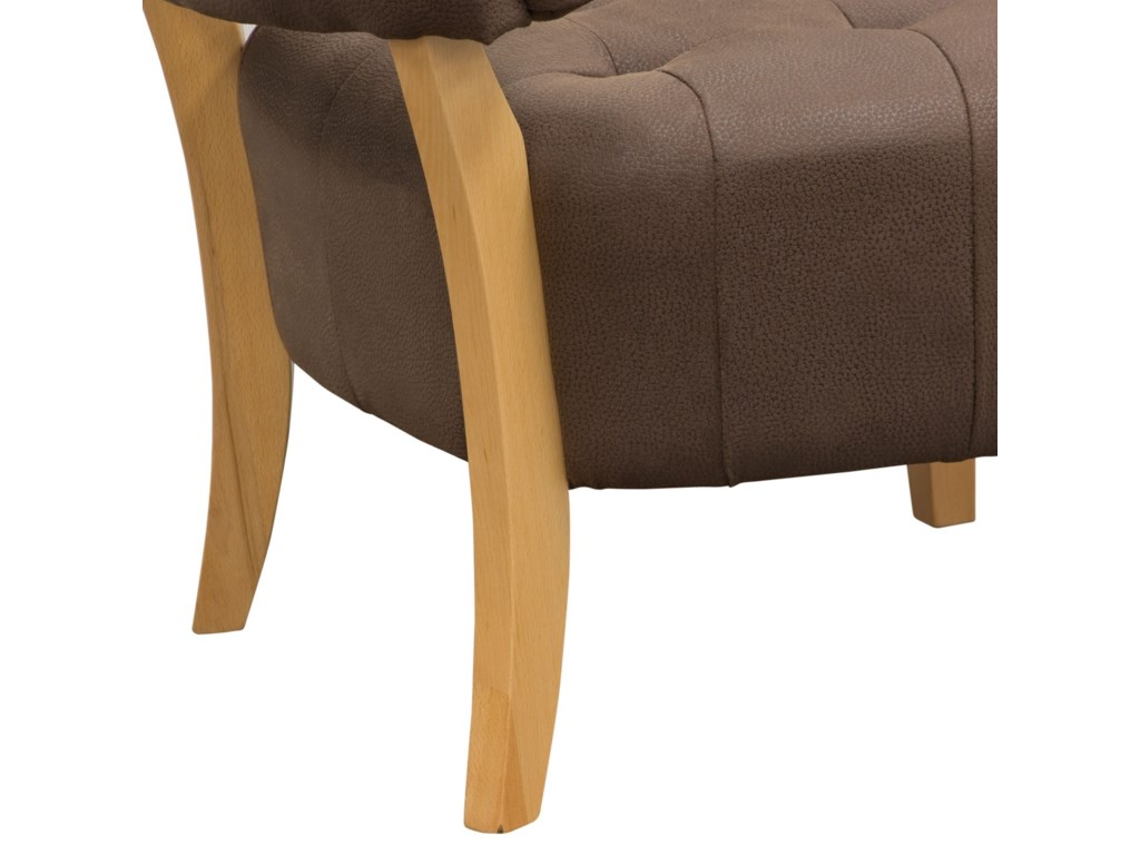 Diamond Sofa Accent ChairsLow Profile Accent Chair