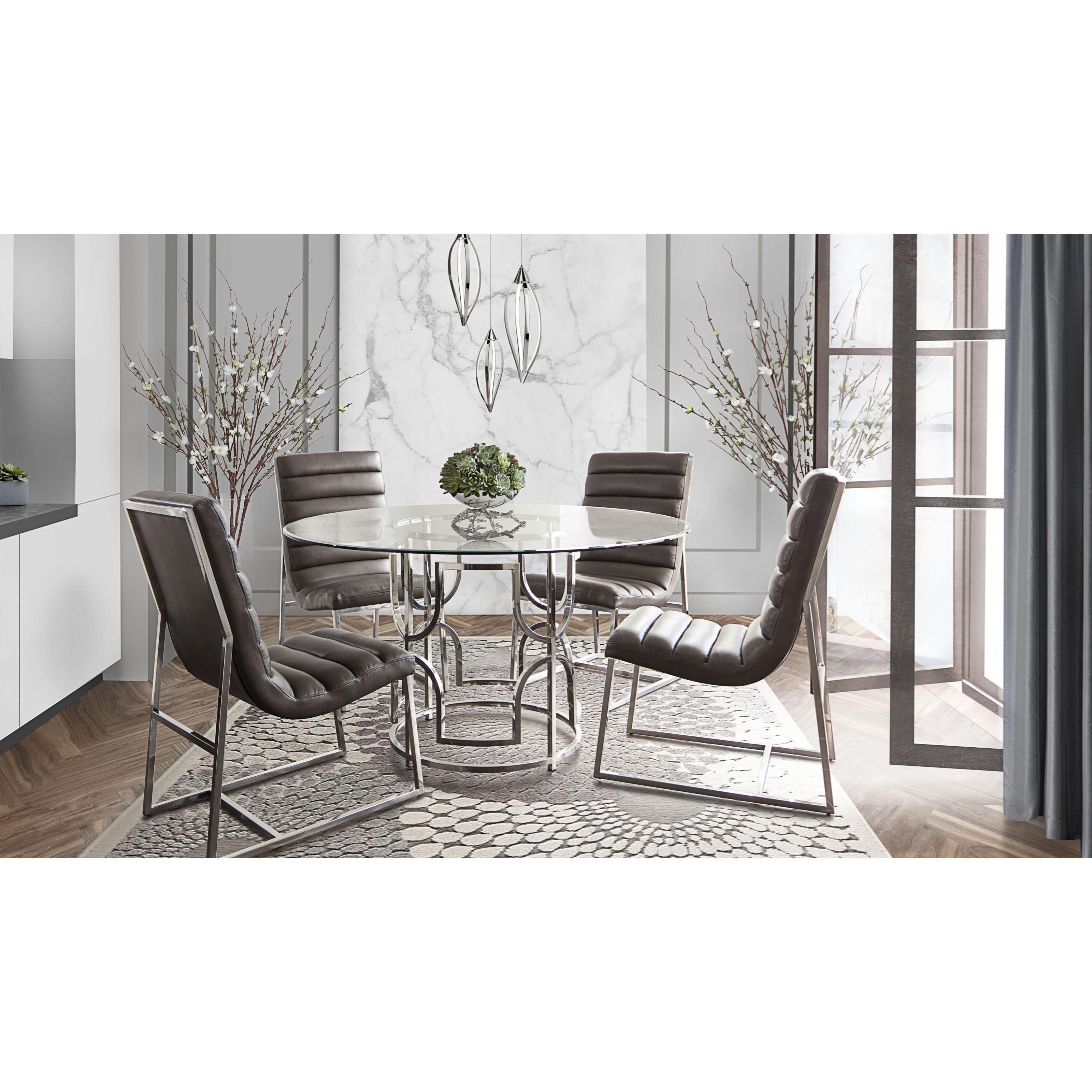 Avalon Dining Table By Diamond Sofa