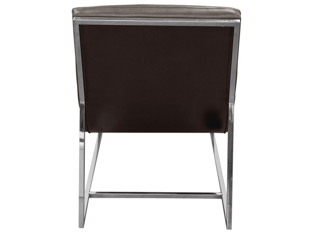 Diamond Sofa Bardot GreyChaise Lounge
