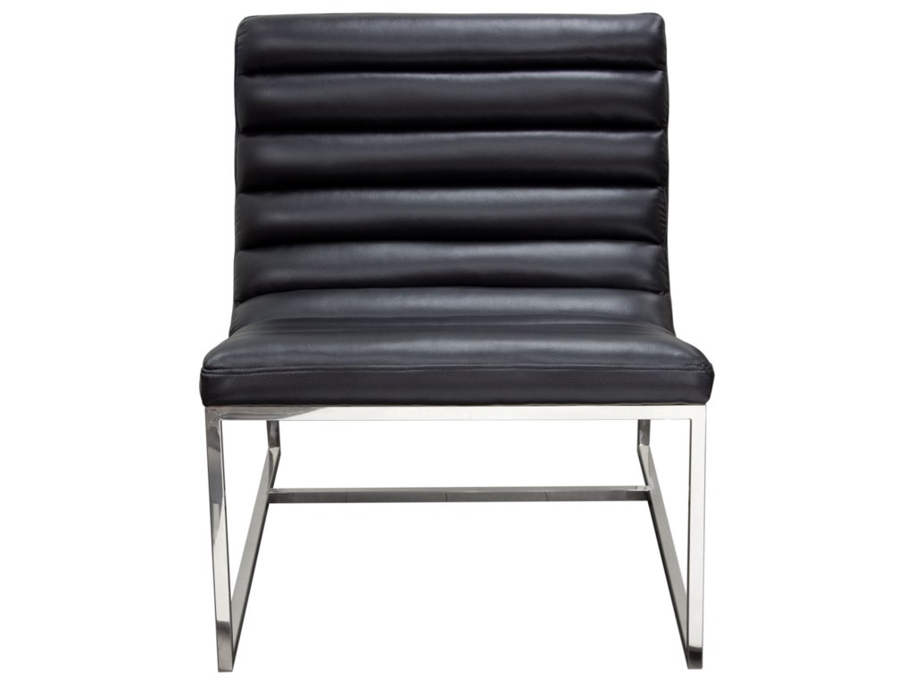 Diamond Sofa Bardot BlackLounge Chair