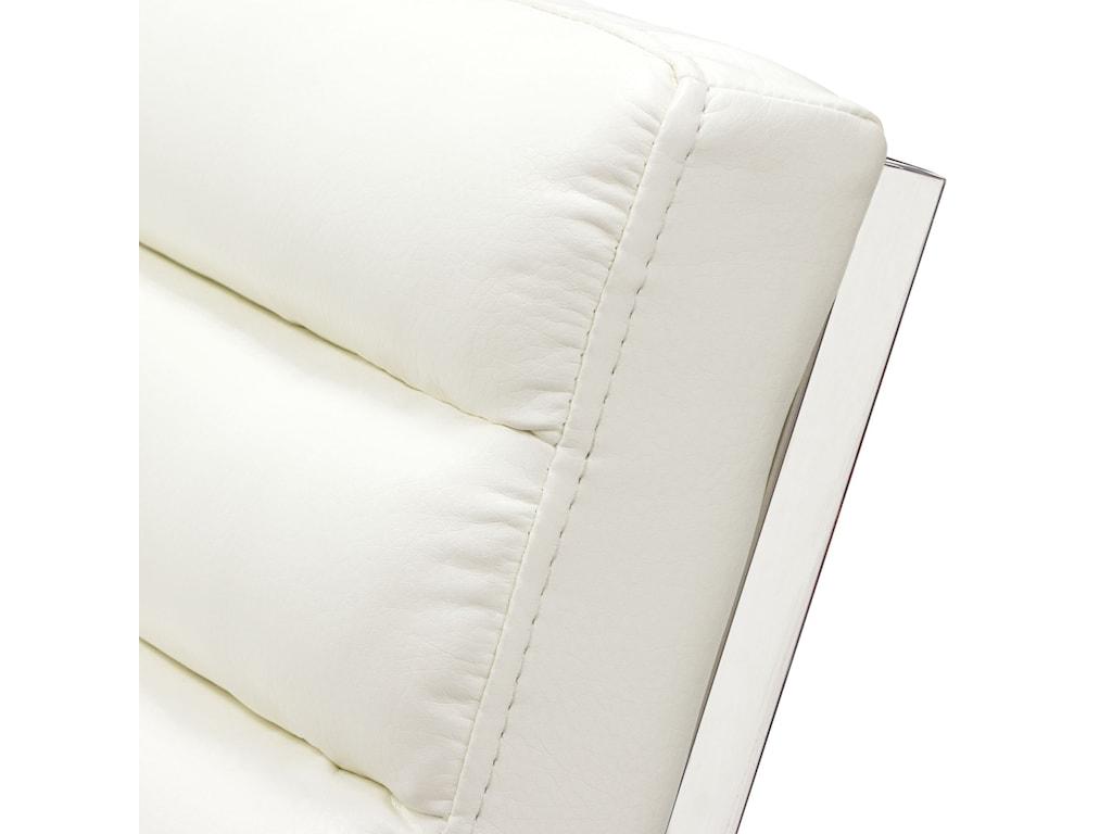 Diamond Sofa Bardot WhiteLounge Chair