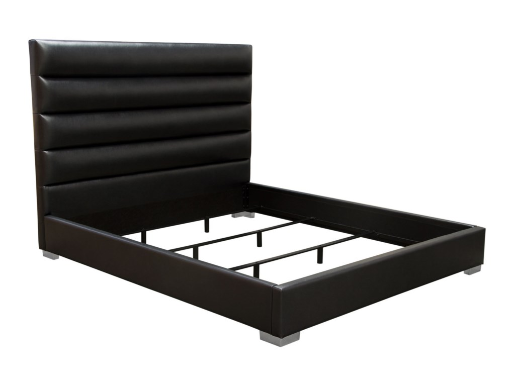 Diamond Sofa Bardot BlackCalifornia King Bed
