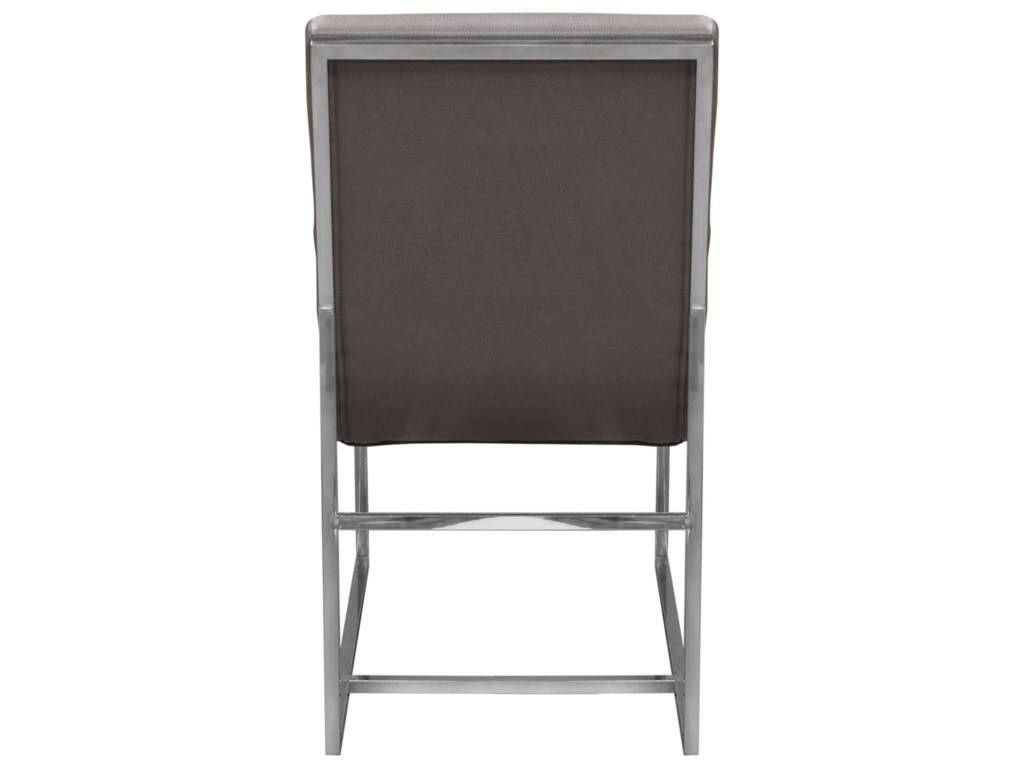 Diamond Sofa Bardot GreySet of Two Dining Side Chairs