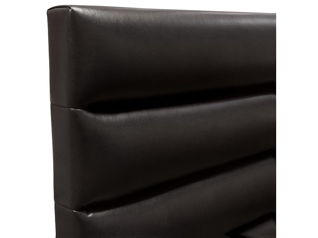 Diamond Sofa Bardot BlackKing Bed