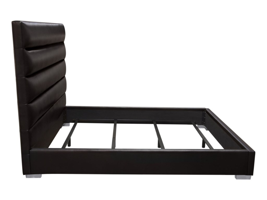 Diamond Sofa Bardot BlackQueen Bed
