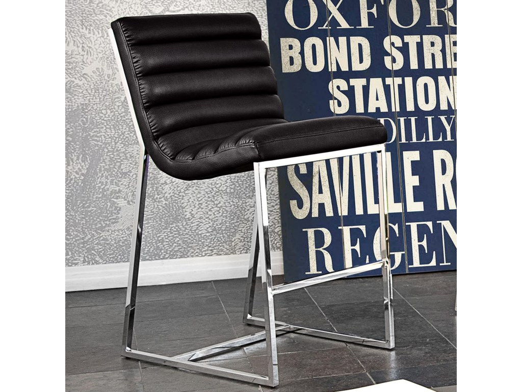 Diamond Sofa Bardot BlackCounter Stool