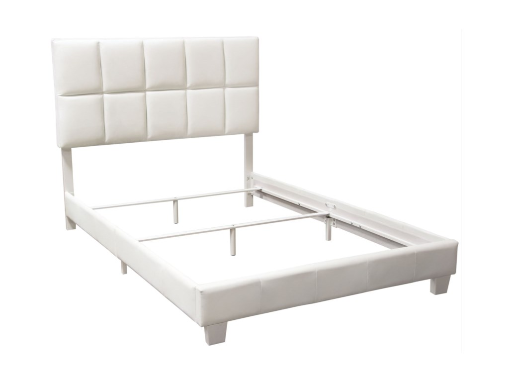 Diamond Sofa BiscuitQueen Bed