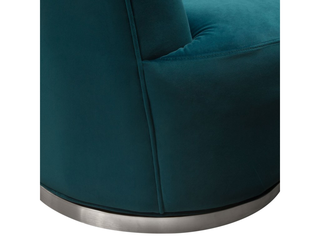 Diamond Sofa BlakeSwivel Accent Chair