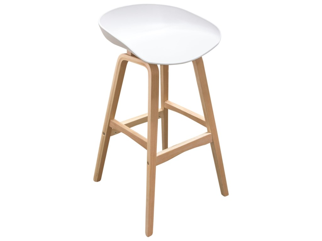Diamond Sofa BrentwoodBar Height Stool