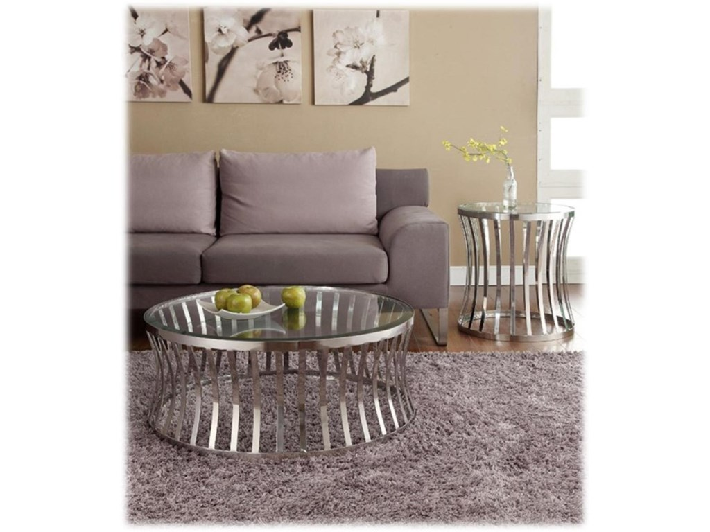 Diamond Sofa CapriEnd Table