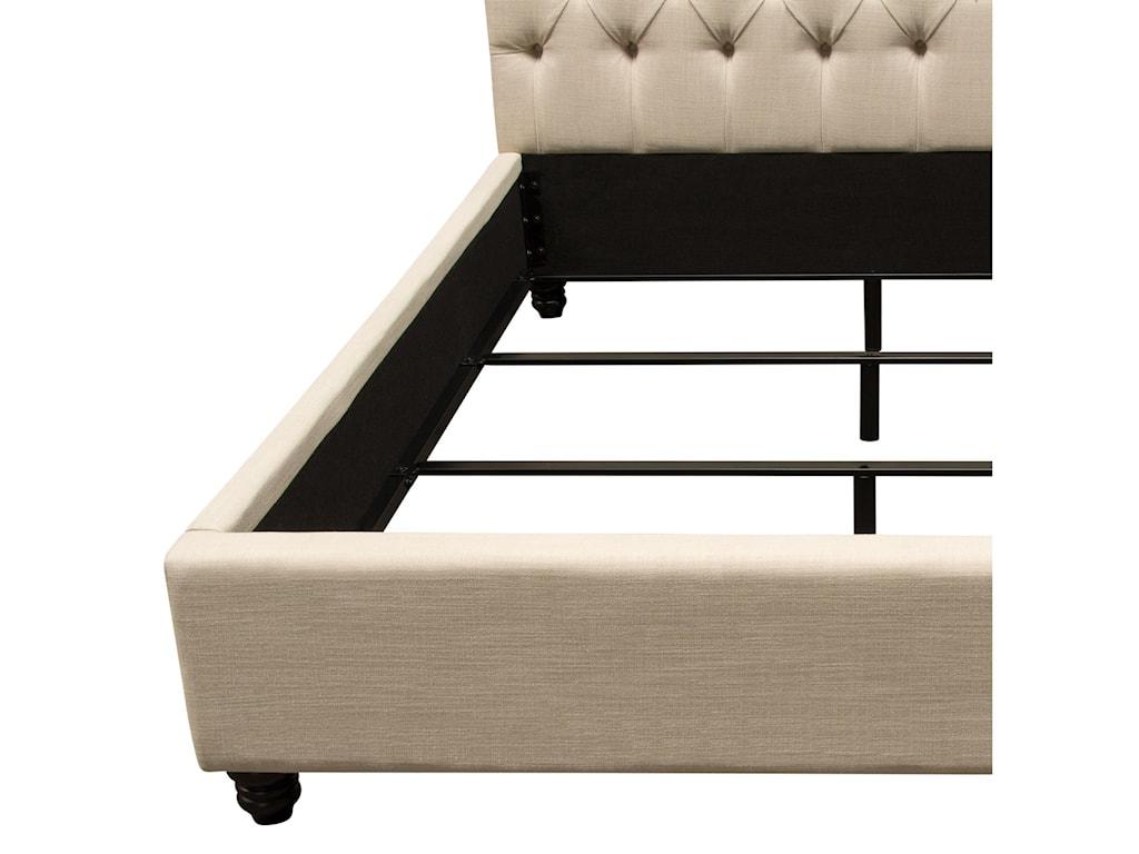 Diamond Sofa ChesterfieldQueen Bed
