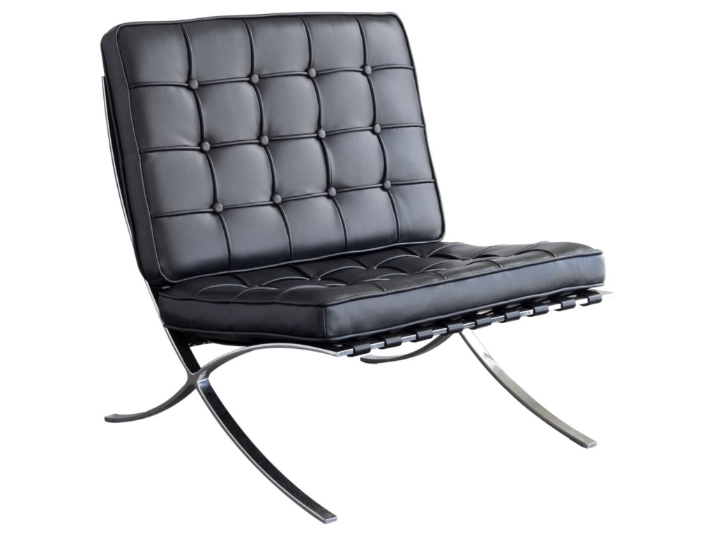 Diamond Sofa Cordoba BlackChair