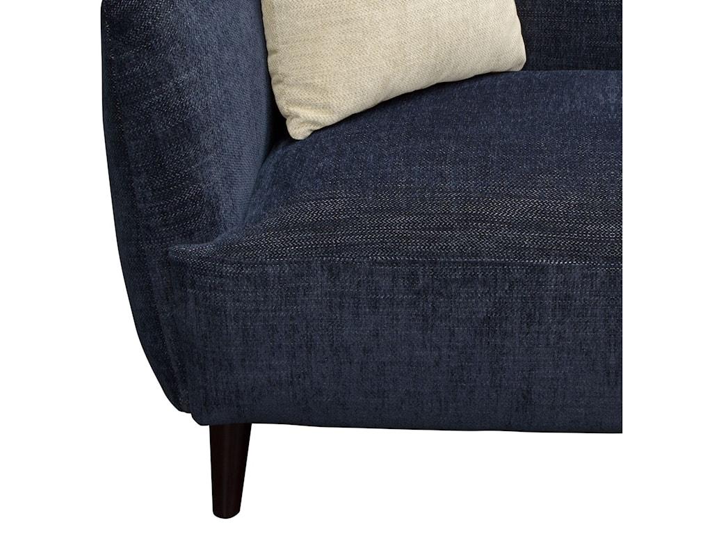 Diamond Sofa De LucaLoveseat